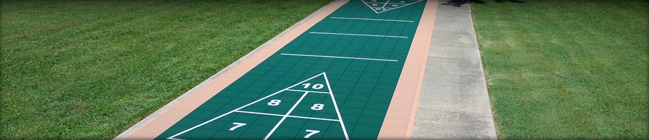 Outdoor Shuffleboard Court Shuffleboard Courts
